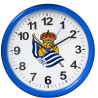Real Sociedad de Fútbol - Reloj de pared 25,4 cm RE03RS02C