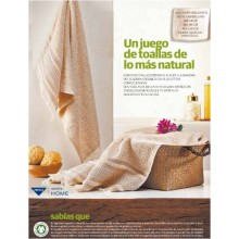 Privata Home - Set 3 toallas puntilla 500 grs. HOTXPV018