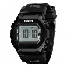 Reloj Privata Digital Unisex RE01PV15 Sumergible 3ATM