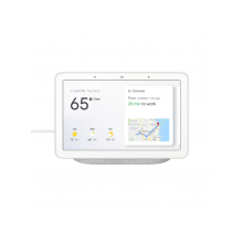 Google - Altavoz inteligente Google Nest Hub Chalk