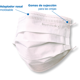 MASCARILLA QUIRURGICA TIPO IIR pack 20 uds - Made in spain
