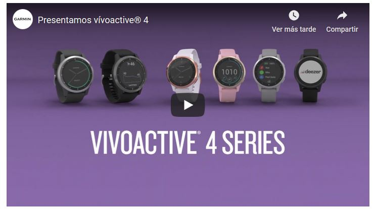 Video vivoactive 4s