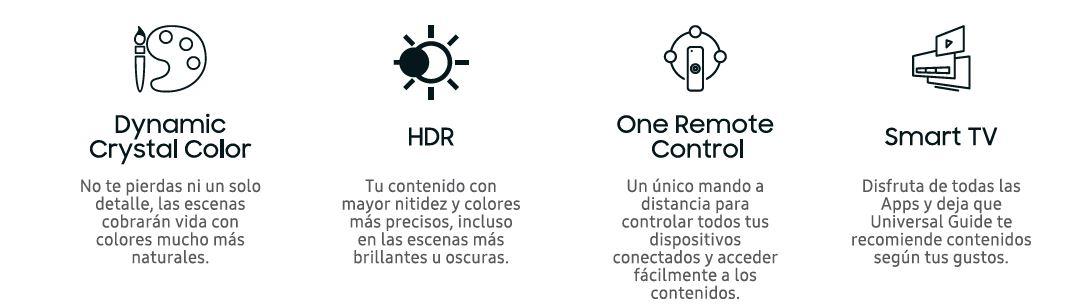 Televisor 4K UHD HDR Smart TV Serie RU7405