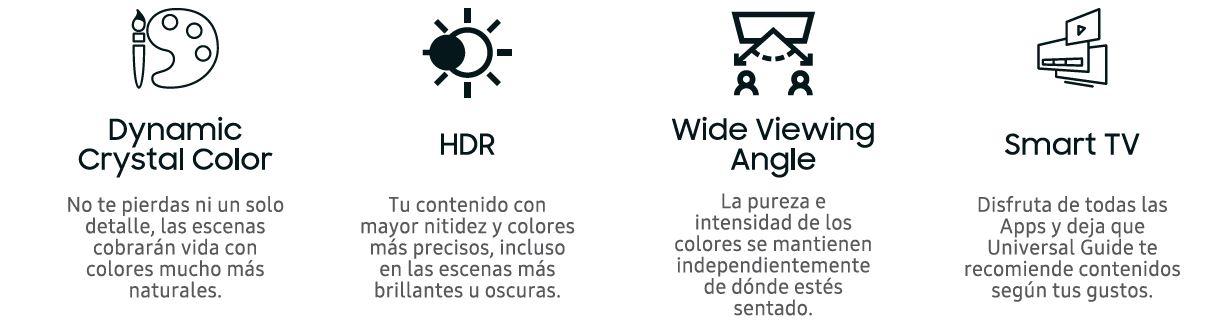 """Televisor 4K UHD 208cm 82"""" HDR Smart TV Serie RU8005"""